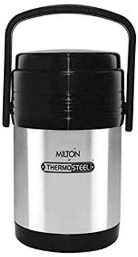 bc70f6abc9eb Milton Thermosteel Hot Meal 3 Stainless Steel Inner Container Lunch Box 3  Containers Lunch Box