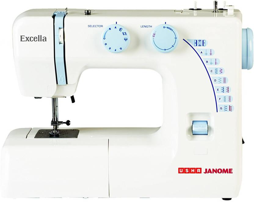 Usha Janome Excella Automatic Electric Sewing Machine Price In India Beauteous Usha Janome Sewing Machine Price List
