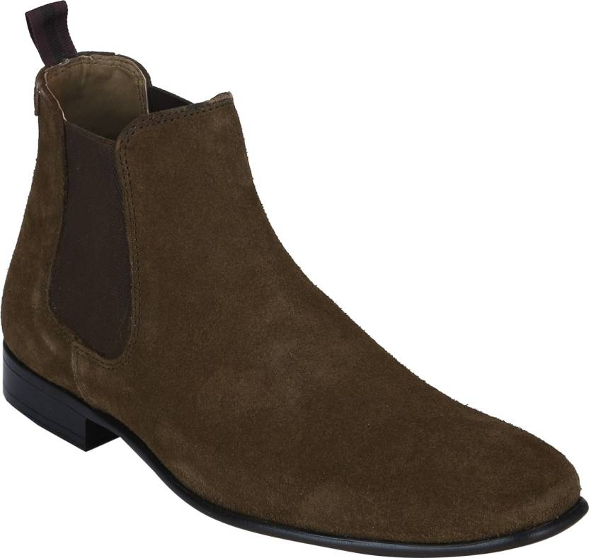1722fa3afa0c Red Tape Suede Leather Chelsea Boots For Men - Buy Red Tape Suede ...