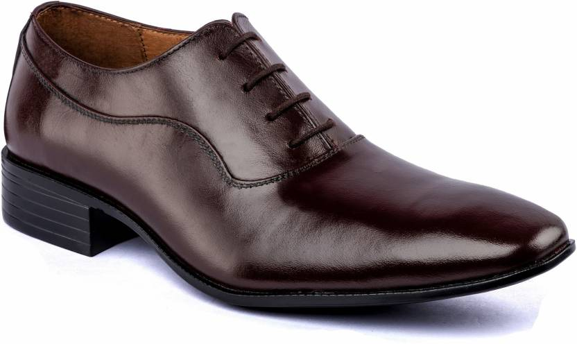 1746228f9992 De Scalzo Italian Beauty Lace Up Shoes For Men - Buy Brown Color De ...