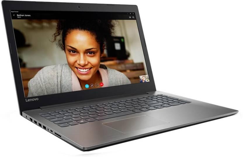 Lenovo Ideapad 320 APU Quad Core E2 7th Gen - (4 GB/1 TB HDD/Windows 10 Home/512 MB Graphics) 80XV010DIN Laptop(15.6 inch, Onyx Black)