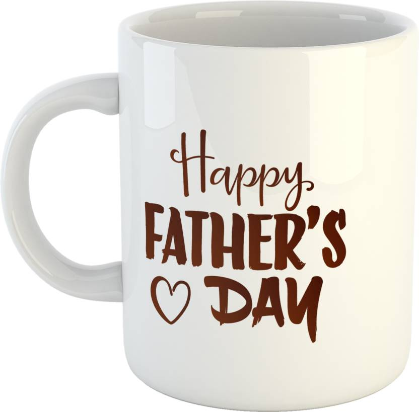 GiftOwl My Father Hero Coffee Gift For Dad Happy Fathers Day White 330
