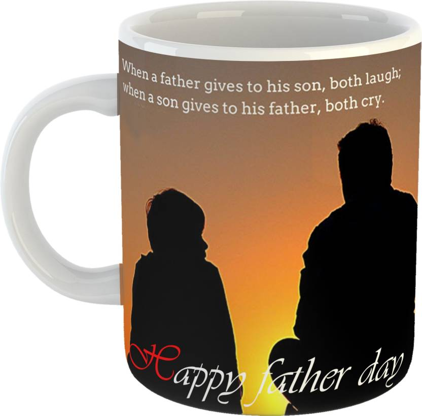 GiftOwl Best Fathers Day Quote White Coffee 330 Ml