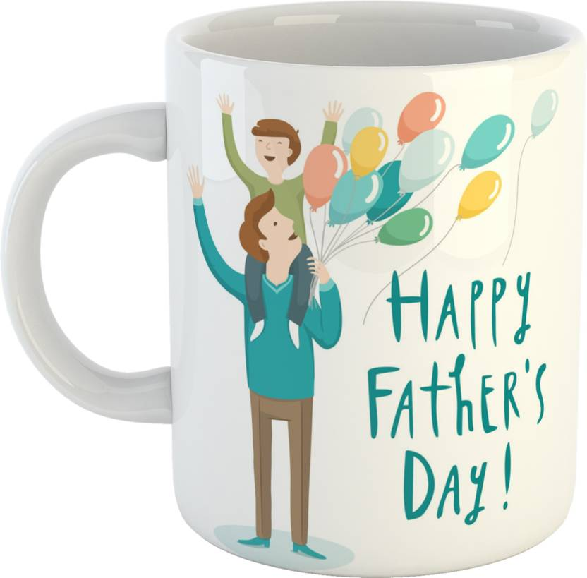 GiftOwl Perfect Coffee Gift For Dad Father Happy Fathers Day White 330 Ml