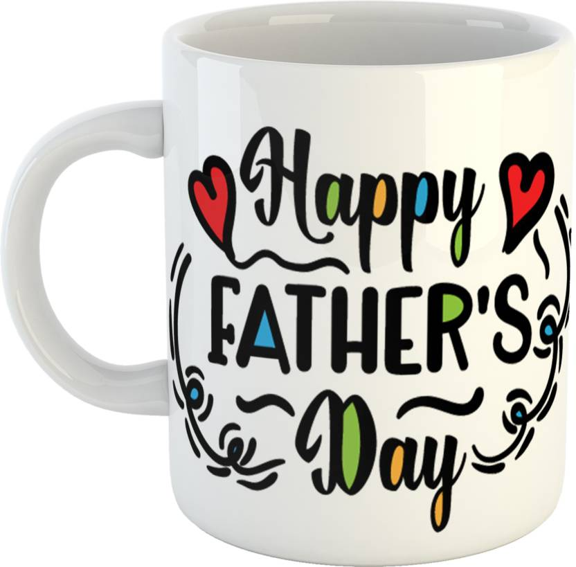 giftowl best of best gift for dad father happy fathers day white coffee 330 ml