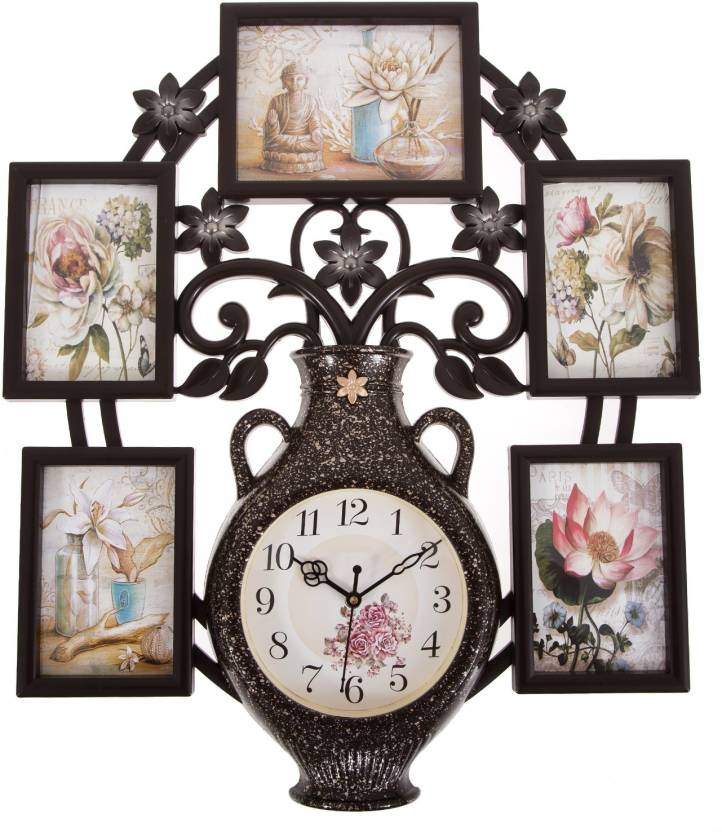 Smile2u Retailers Analog 475 Cm X 55 Cm Wall Clock Price In India