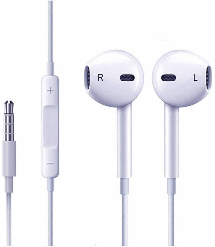 f2ba424d87c Blue Birds Earphone For iPhone 6 6S 5 5S In-Ear Earbud With Microphone  White Headphone ...