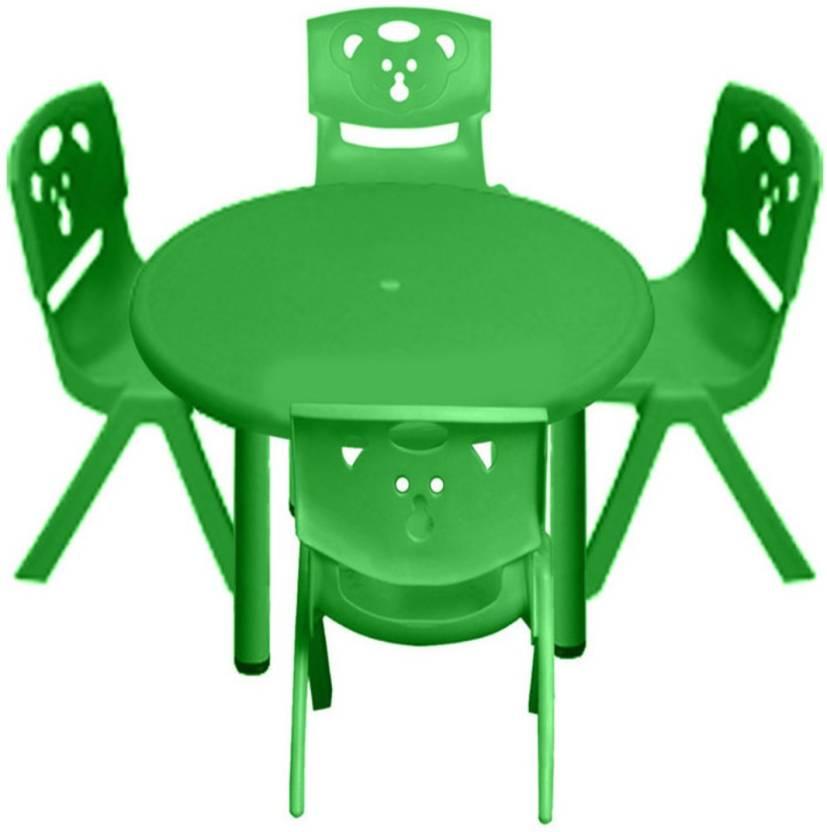 Pleasant Sunbaby Sunbaby Round Table Chair Combo Plastic Desk Chair Machost Co Dining Chair Design Ideas Machostcouk