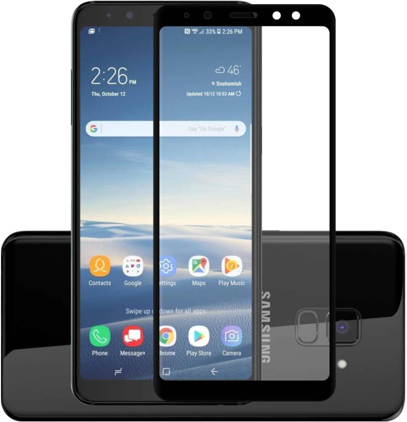 Case Creation Tempered Glass Guard for Samsung J6 SM-J600 G/DS