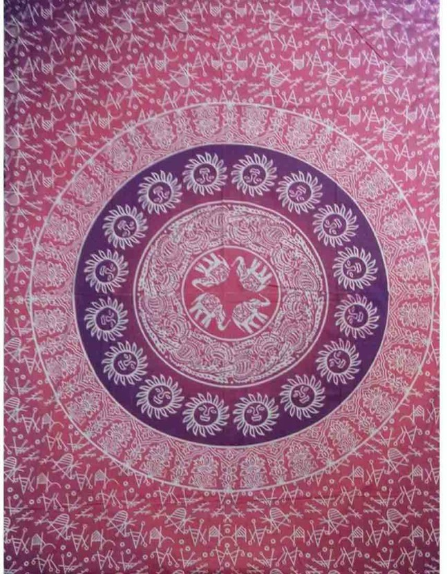 Indian Wall Hanging Cotton Mandala Hippie Poster Size Tapestry Ethnic Home Decor