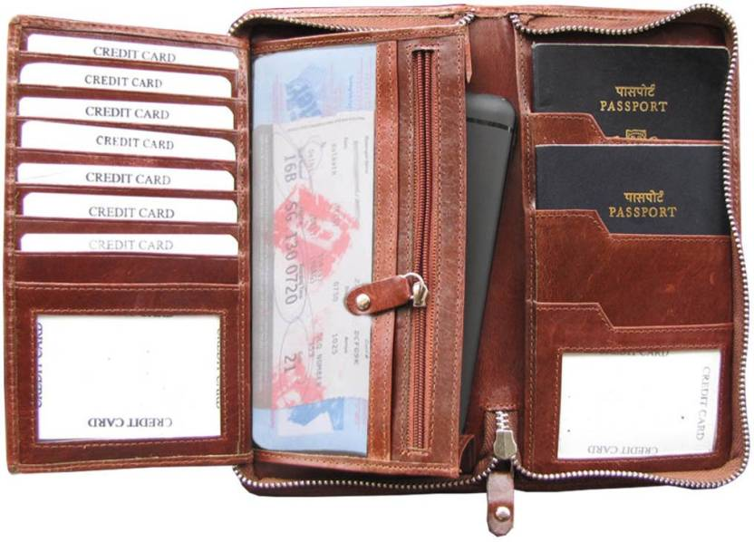 1001eb558 ABYS Genuine Leather Passport Holder