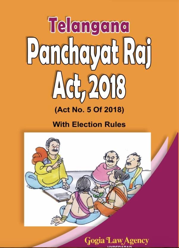 Telangana Panchayat Raj Act 2018: Buy Telangana Panchayat Raj Act