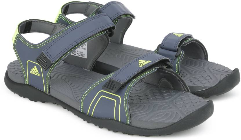 36904f87d ADIDAS Men TRABLU/SYELLO/VISGRE Sports Sandals - Buy TRABLU/SYELLO/VISGRE  Color ADIDAS Men TRABLU/SYELLO/VISGRE Sports Sandals Online at Best Price -  Shop ...