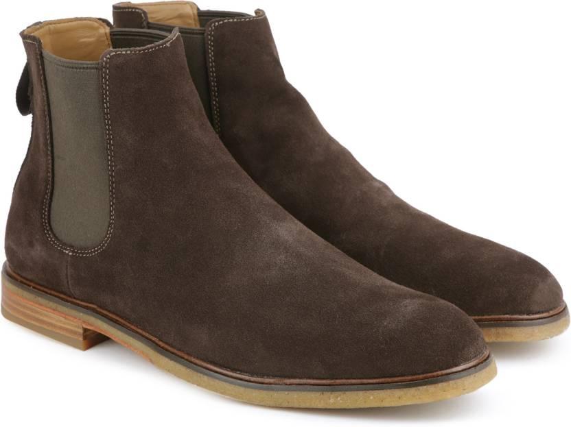 336f2ce6ec4cd4 Clarks Clarkdale Gobi Boots For Men - Buy Dark Brown Suede Color ...