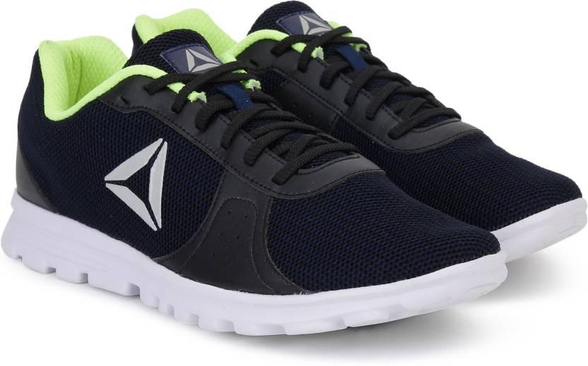 fccbbab98bda26 REEBOK RUNTHUSIASTIC Running Shoes For Men - Buy BLACK COL NAVY NEON ...