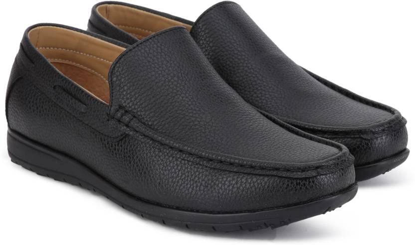 cb075d28cfd Provogue Loafers For Men - Buy Black Color Provogue Loafers For Men ...