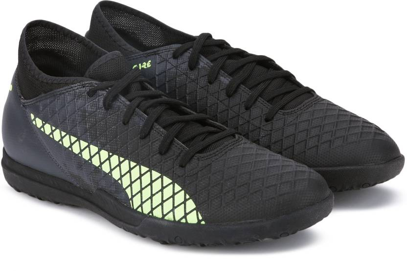 newest cc25f 1e2c7 Puma FUTURE 18.4 TT Football Shoes For Men (Black)