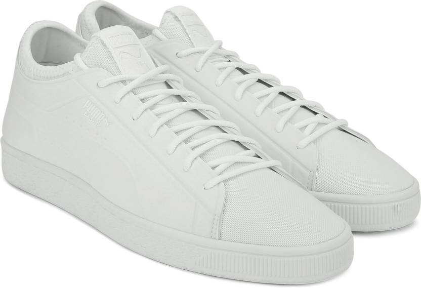 e6a6ccefa99 Puma Basket Classic Sock Lo Sneakers For Men - Buy Puma White-Puma ...