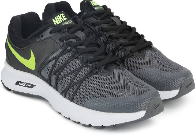 ad052a499cc Nike AIR RELENTLESS 6 MSL Running Shoes For Men - Buy BLACK ...