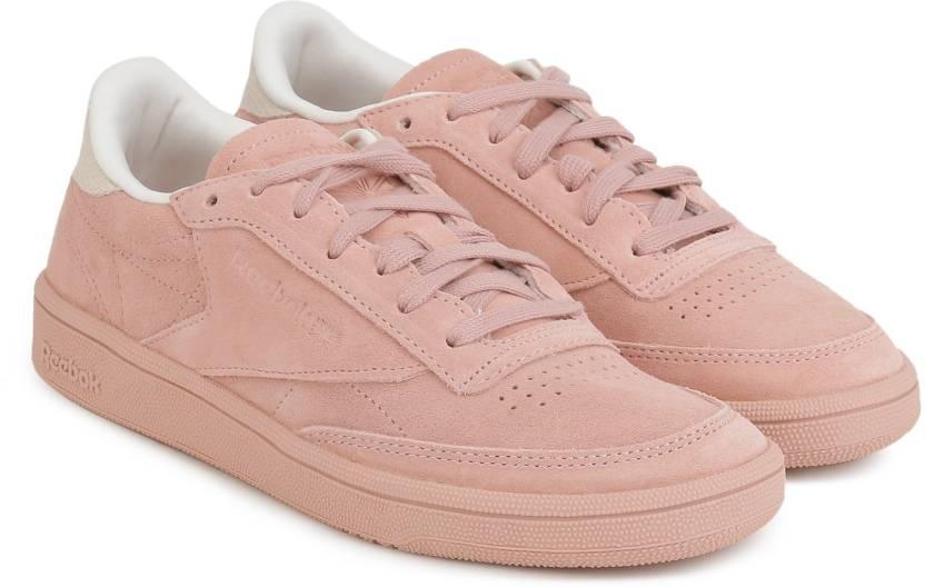 f5bd9f05a16 REEBOK CLUB C 85 NBK Tennis Shoes For Women - Buy CHALK PINK PALE ...