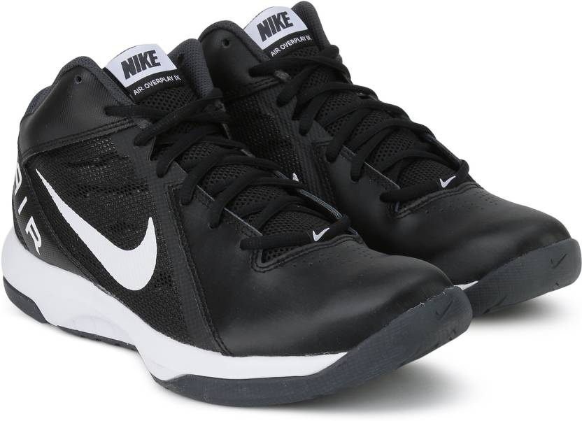 ba93f139556 Nike THE AIR OVERPLAY IX Basketball Shoes For Men - Buy BLACK ...