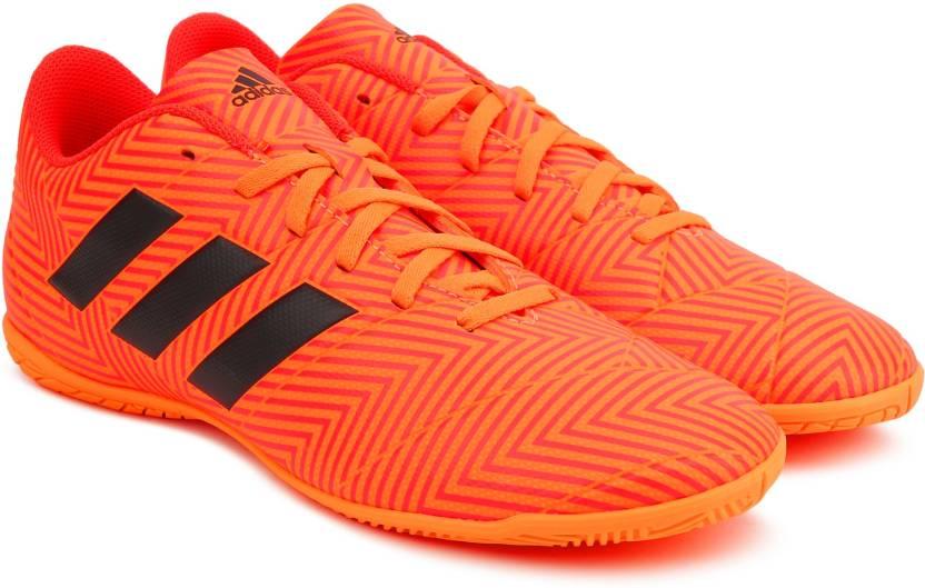 official photos 04f2b 2a4aa ADIDAS NEMEZIZ TANGO 18.4 IN Football Shoes For Men (Orange)