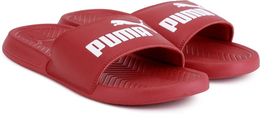 Puma Popcat Slides - Buy Barbados Cherry-Puma White Color Puma Popcat  Slides Online at Best Price - Shop Online for Footwears in India  f5bf62373
