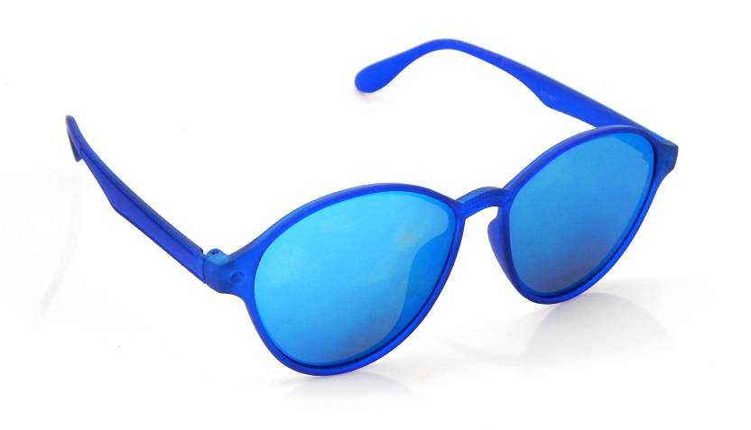 dbeca9f7141 Buy Els Wayfarer Sunglasses Blue For Men Online   Best Prices in ...
