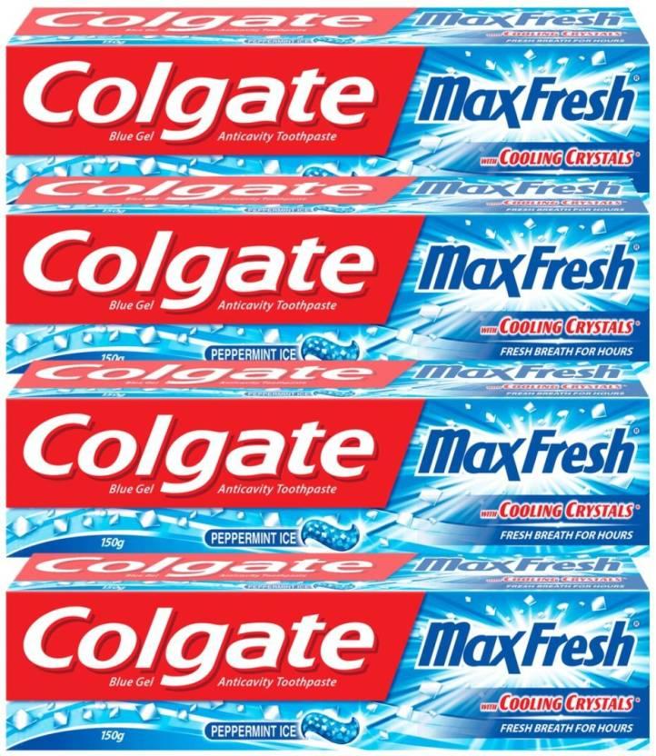Colgate Maxfresh Red Gel Toothpaste