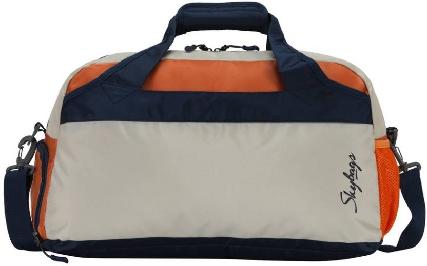 Skybags Day Bag White Travel Duffel Bag White - Price in India ... 11ea87bef9cad