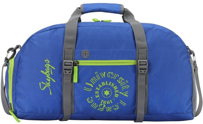 Skybags Fitness Bag Blue Gym Bag Blue - Price in India  2b44a40db4df1