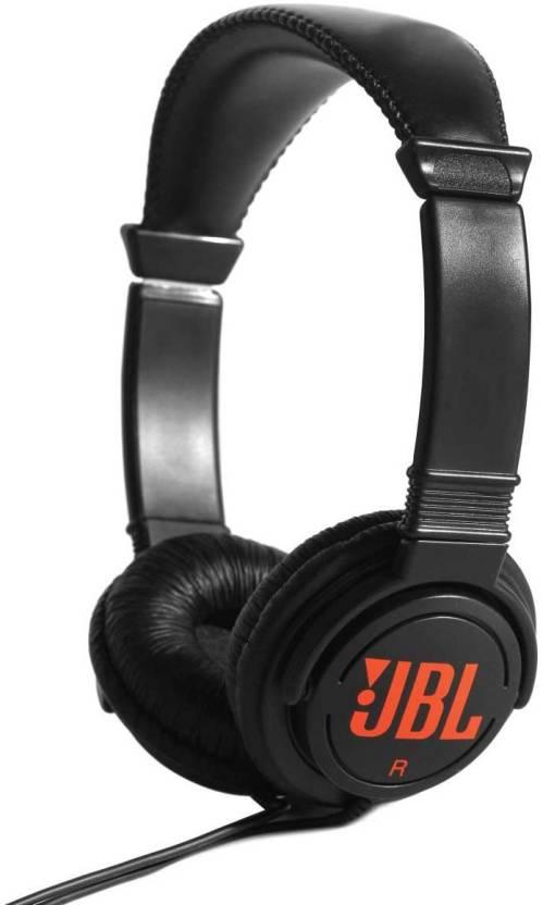 JBL T250SI Wired Headphone  (Black, On the Ear)
