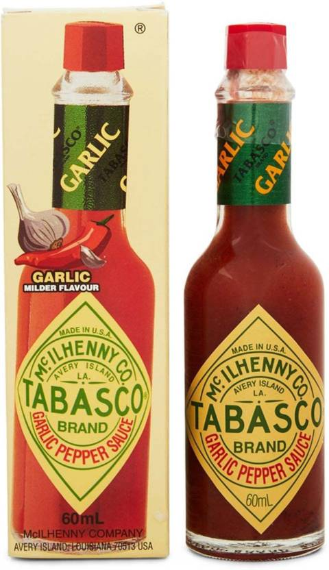 Tabasco Garlic Pepper Sauce Mild Flavor - 60ml Sauce
