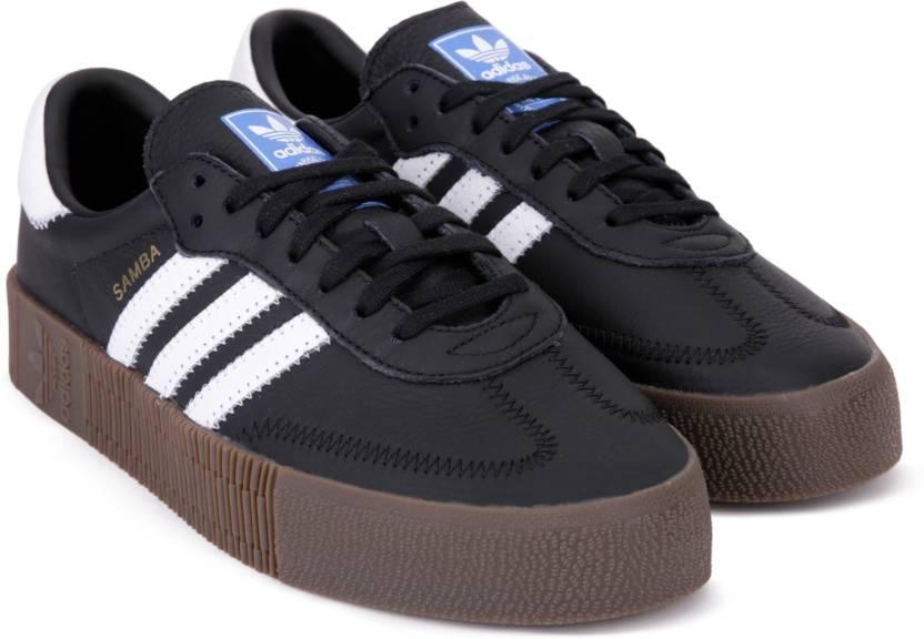 06aaafcd46c7 ADIDAS ORIGINALS SAMBAROSE W Running Shoes For Women - Buy CBLACK ...