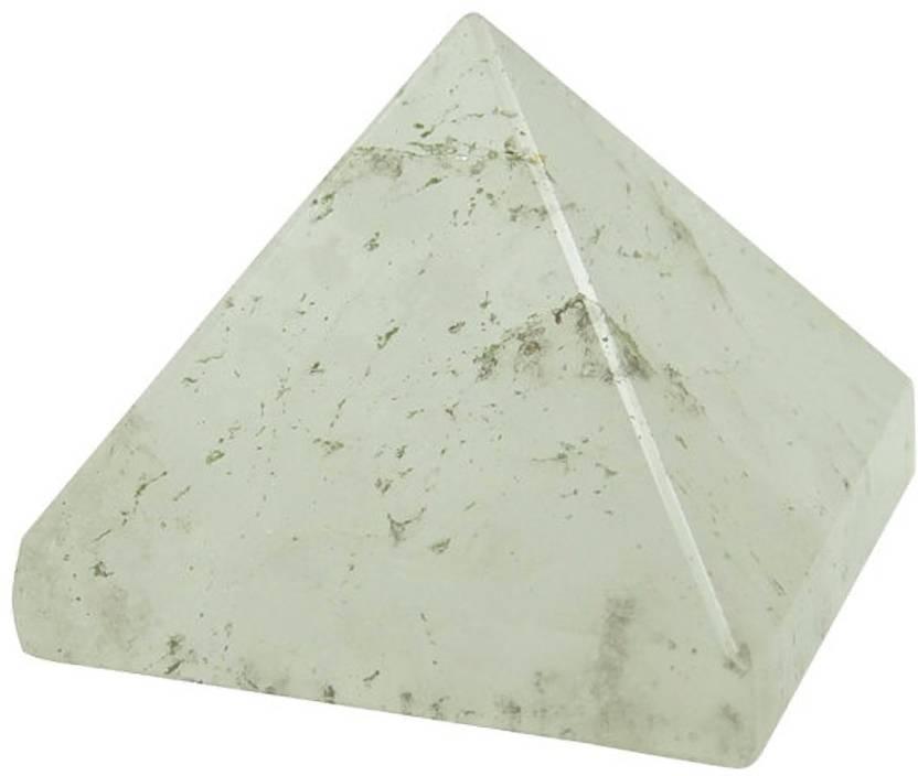 Stargems Clear Crystal Quartz Stone Pyramid, Spiritual Reiki