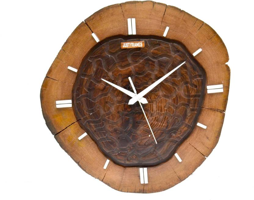 23191c8539a6 Just Frames Analog 40 cm X 40 cm Wall Clock Price in India - Buy ...