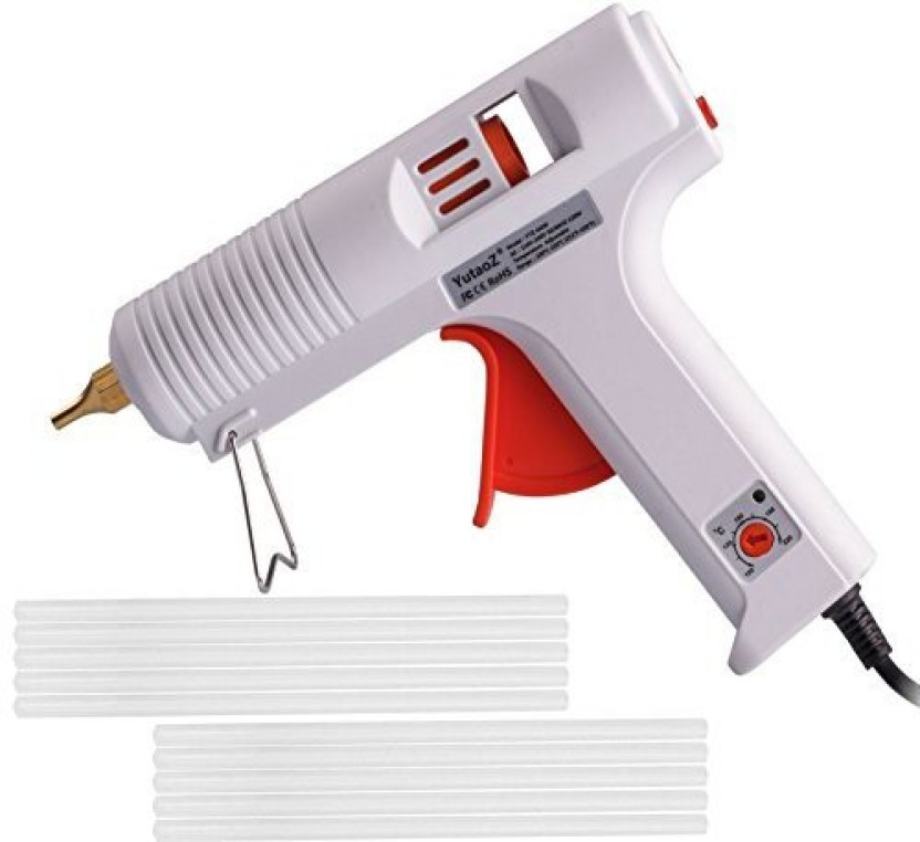 HOT Glue Gun With Glue Sticks Hot Melt Arts Craft 120W Adjustable Temperature