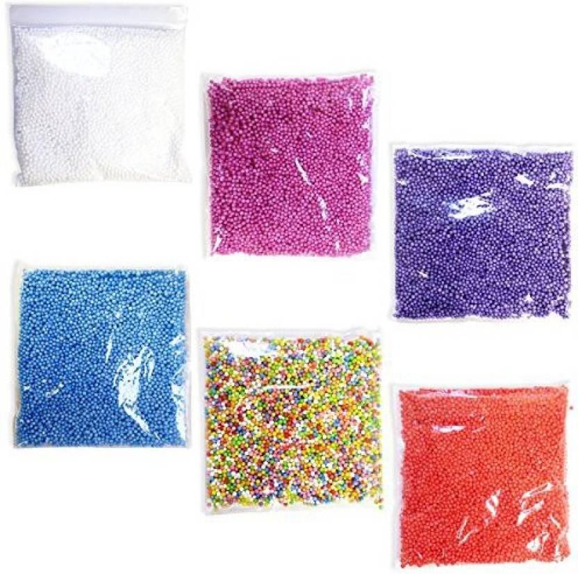 Blue Orchards Styrofoam Bead Variety Pack 6 Styrofoam Balls Arts