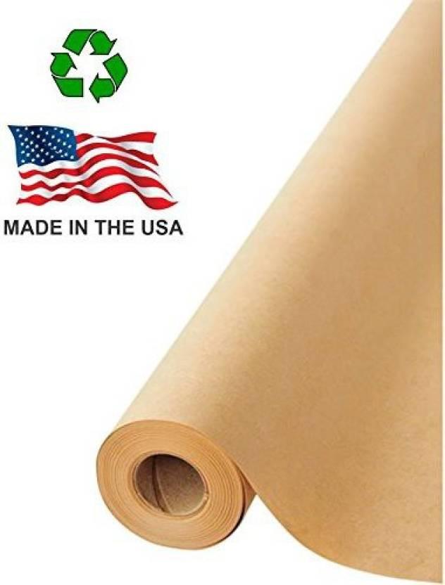 Generic Made In Usa Brown Kraft Paper Jumbo Roll 17 75 X 1200