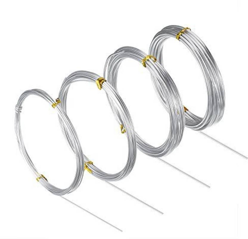 Generic Bbto Silver Aluminum Craft Wire  Mm 1 5 Mm
