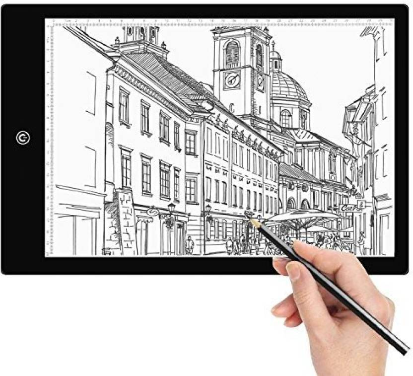 Amzdeal Tracing Light Box A4 Led Tracer Artcraft Pad With 6 Dimmable