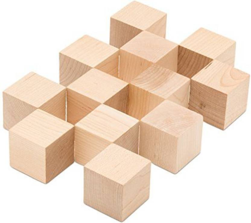 Woodpeckers Wooden Cubes - 2
