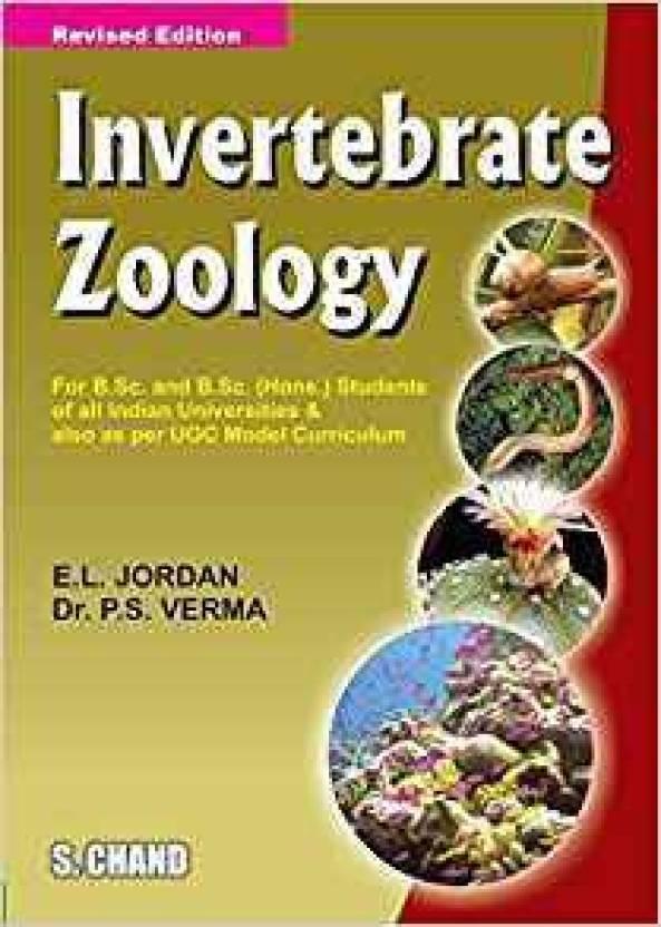 Invertibrate Zoology Buy Invertibrate Zoology By Verma P Sauthor