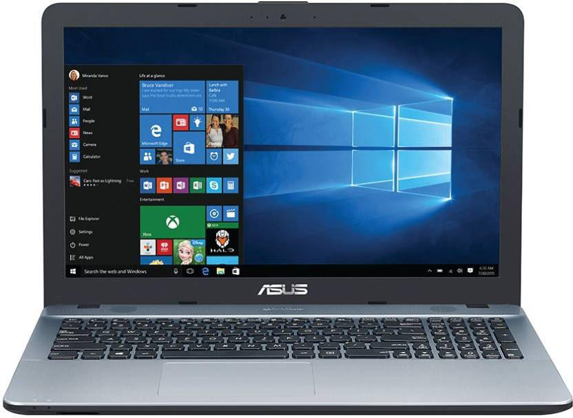 Asus Pentium Quad Core - (4 GB/1 TB HDD/Windows 10 Home) F541NA-GO651T Laptop (15.6 inch, SIlver Gradient, 2 kg)