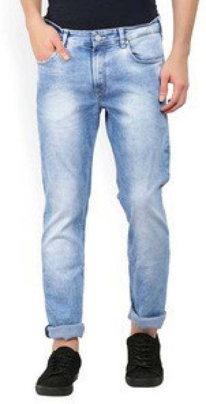 4510846b363 French Connection Slim Men's Blue Jeans - Buy Blue French Connection Slim  Men's Blue Jeans Online at Best Prices in India | Flipkart.com