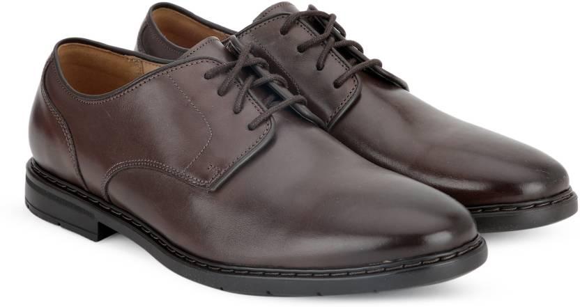 faf35295962da Clarks Banbury Lace Formal Shoes For Men - Buy Dark Brown Lea Color ...