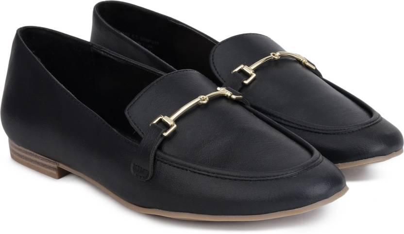 9af97230f4 Bata Loafers For Women - Buy Black Color Bata Loafers For Women ...