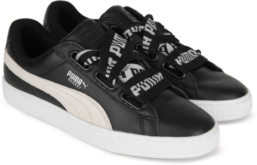 b52dc9c73c95b Puma Basket Heart DE Wn s Sneakers For Women - Buy Puma Black-Puma ...
