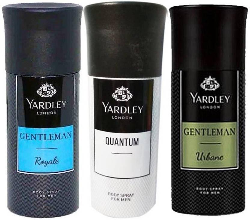 47293352d6b Yardley Body Spray For Men Quantum