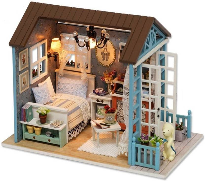 Toys & Hobbies Diy 3d Miniature Assemble Box Theater Creative Toys Building Dollhouse Kits With Funitures For Child Festival Handmade Gifts A Wide Selection Of Colours And Designs Architecture/diy House/mininatures